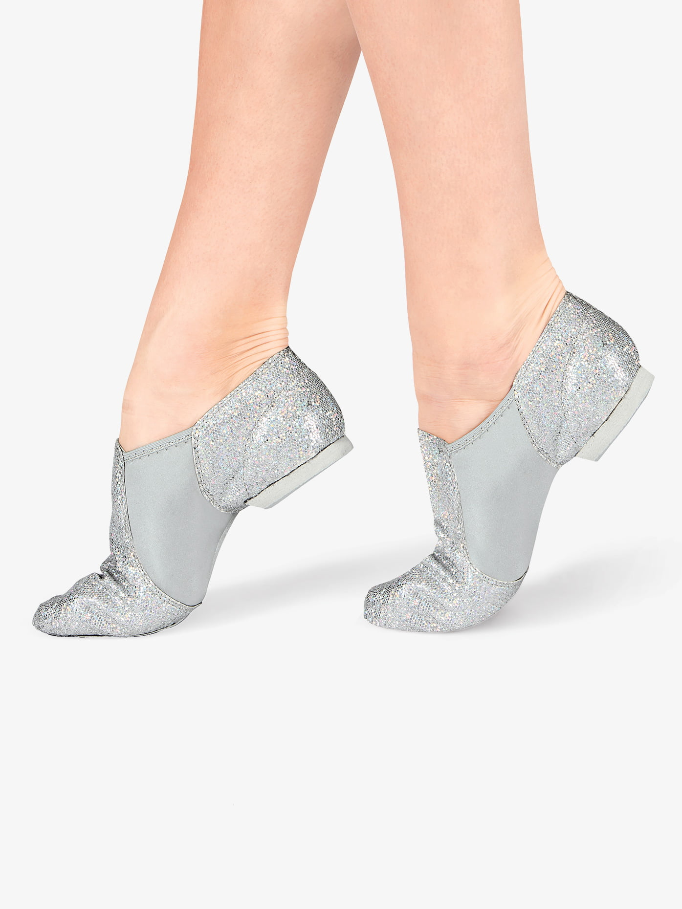 DOUBLEP - Adult Glitter Jazz Shoes