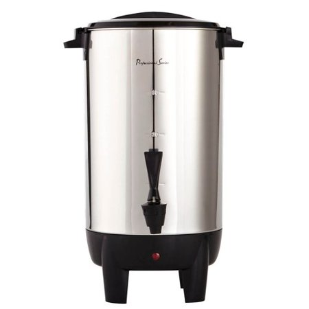 Coffee Urn Percolator - ContinentalElectric 30-Cup Large Stainless Coffee Urn