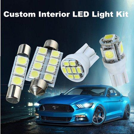 15pcs T10 W5W 31/42MM Festoon Dome Car Light LED Interior Package Light Bulb DC 12V For 07-13 Chevy Silverado - image 1 of 8