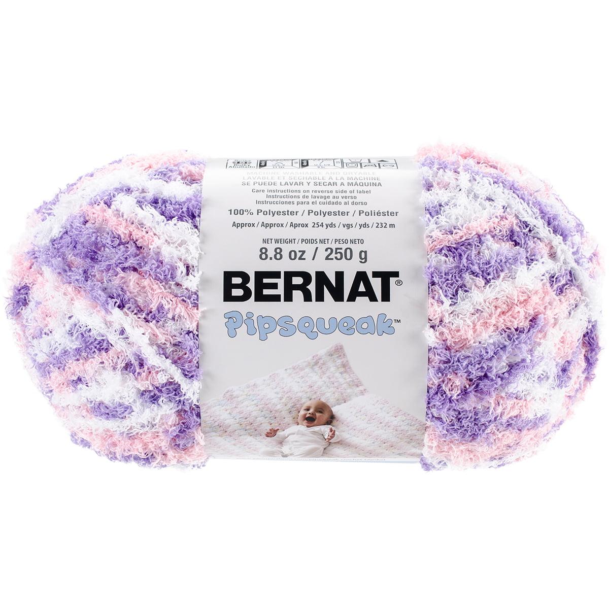 Blue Jean Swirl Super soft-250g8.8oz Bernat Pipsqueak Stripes