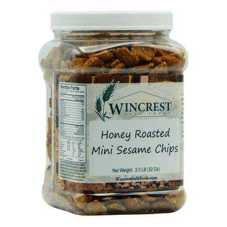 Honey Roasted Sesame Chips - 2 Lb Tub Chips 25 Lb Case