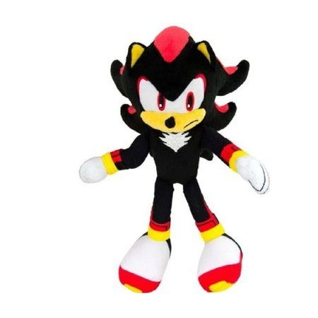 Plush Toy - Sonic the Hedgehog - Shadow - 8 Inch - (Sonic And The Black Knight Shadow Toy)