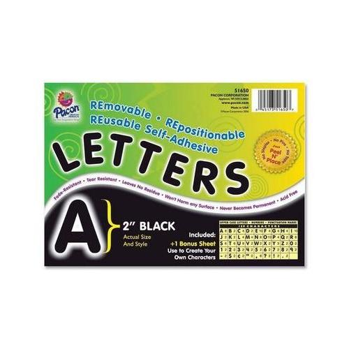 Pacon Self-Adhesive Removable Letters PAC51650