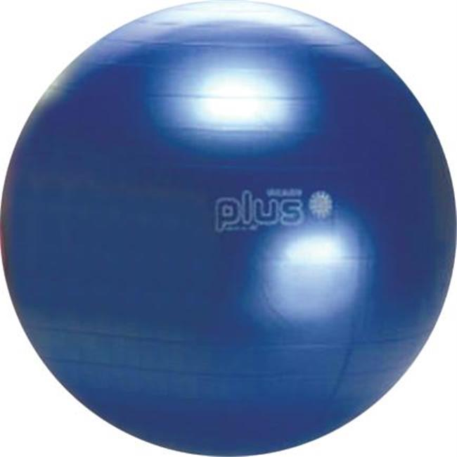 Olympia Sports BL314P Gymnic Plus Exercise Ball - 65cm-26 inch Dia.  - Blue