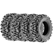 Terache ATLAS AT All Trail ATV UTV Tires 27x9-14 & 27x11-14 6 Ply (Complete set of 4, Front & Rear)