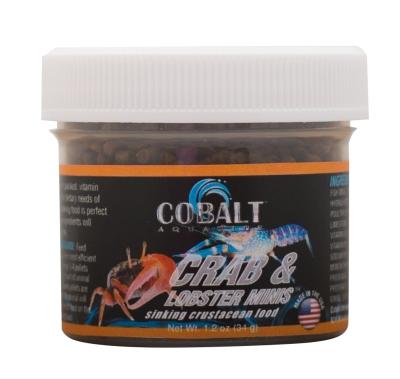Cobalt Aquatics 23252 Hermit Crab Minis Food, 1.2 oz