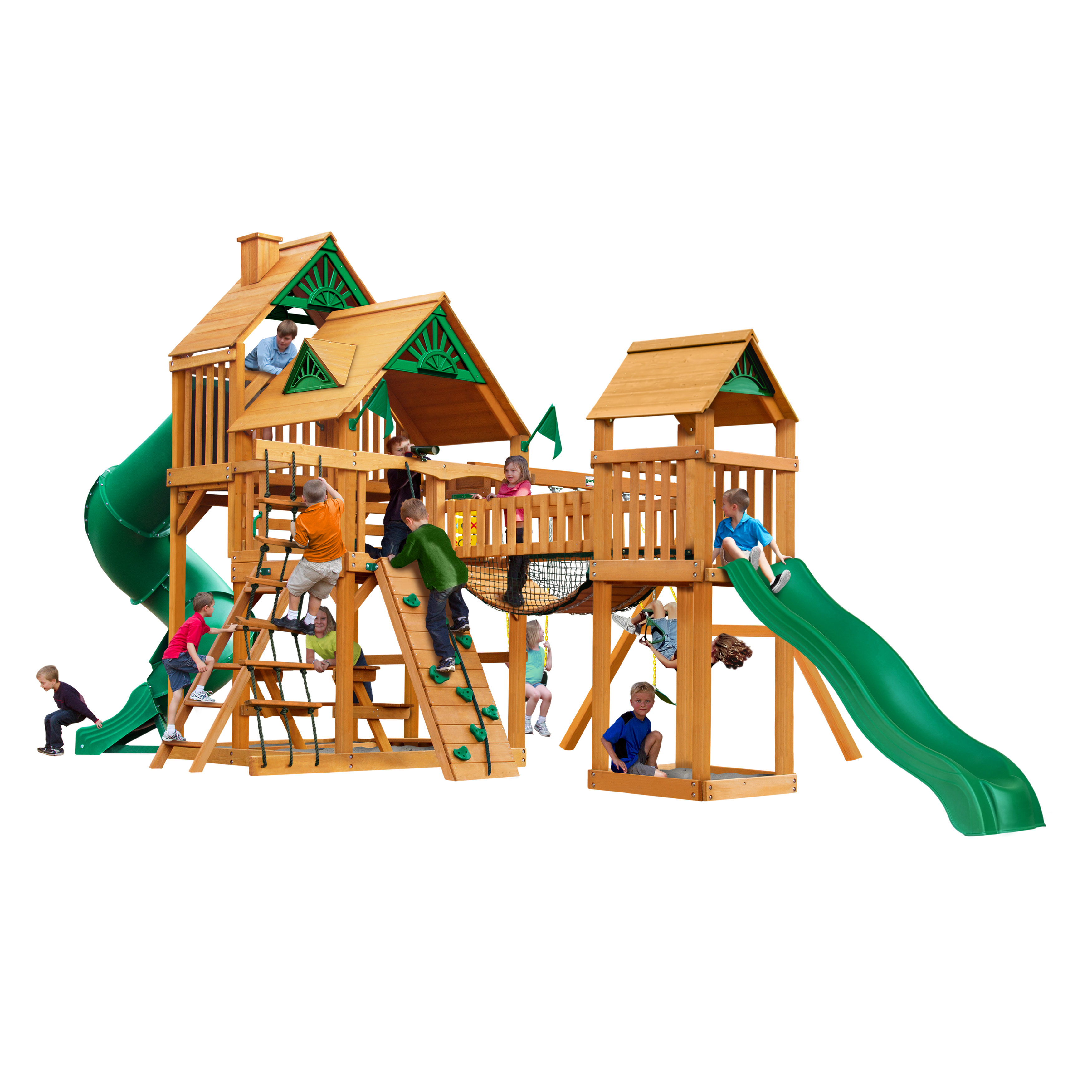 Gorilla Playsets Looney Periscope, Purple and Yellow Trim