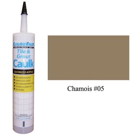 Leather Not Latex (Latex Colored Caulk - Mapei Color Line: Chamois Unsanded )