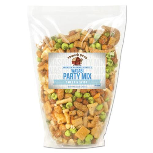 Office Snax Sweet spicy Wasabi Party Mix Resealable Box Sweet, Spicy Bag 1.37 Lb 1 Bag... by Office Snax