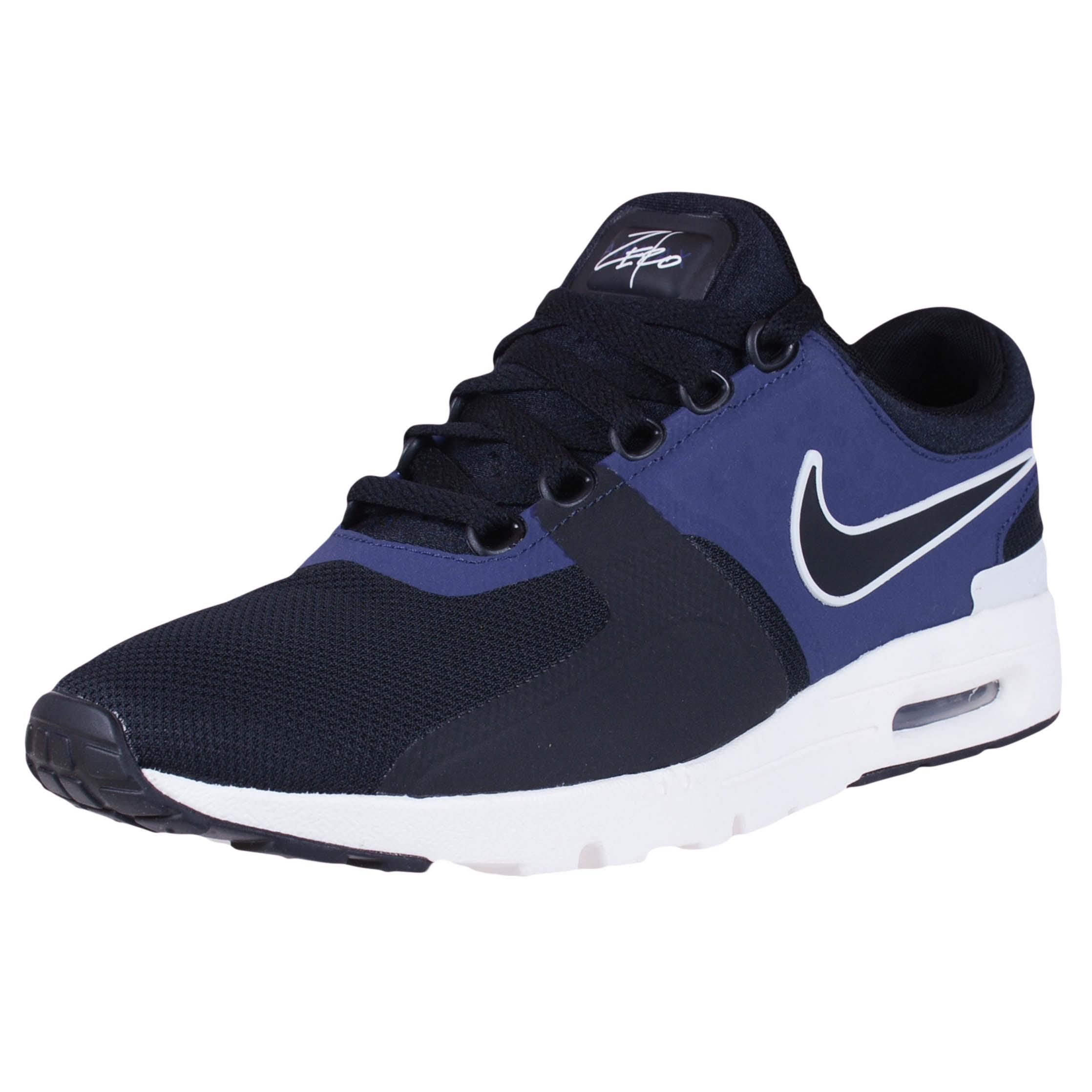 Nike WOMENS AIR MAX ZERO RETRO RUNNING SHOES BLACK IVORY ...