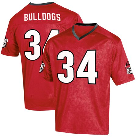Youth Russell Red Georgia Bulldogs Replica Football Jersey