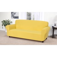Terrific Yellow Couch Covers Walmart Com Short Links Chair Design For Home Short Linksinfo