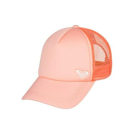 Womens Trucker Hat (Roxy Womens Finishline Snapback Trucker Hat - Souffle)