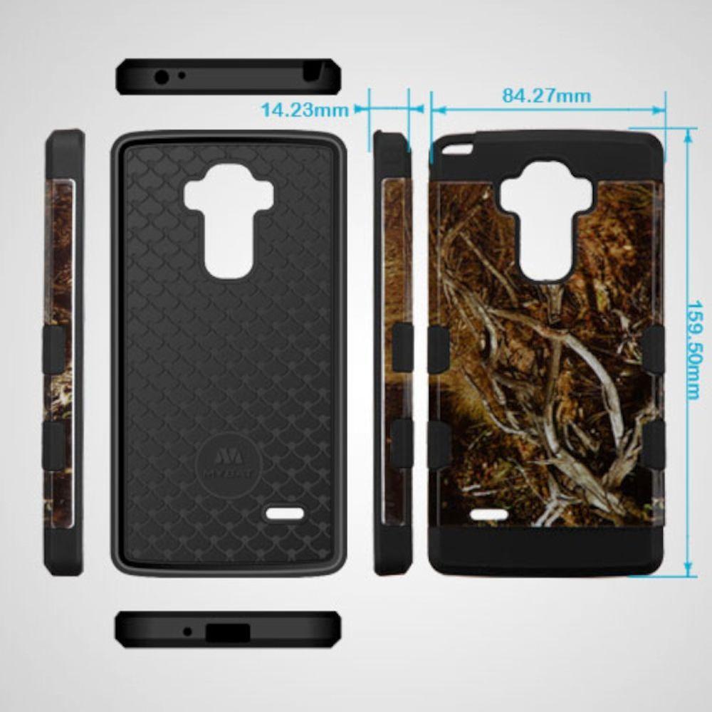 LG G Stylo Phone Case, LG G Stylo Case, LG G Vista 2 Case, by Insten Hibiscus Flower Romance Hard Rubberized Silicone Case For LG G Stylo / G Vista 2 case cover - image 1 of 3