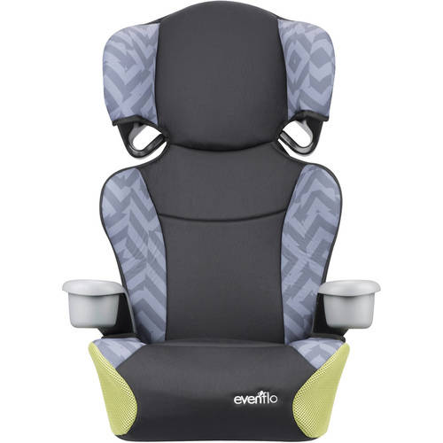 Evenflo Big Kid Sport High Back Booster Seat, Goody Two Tones