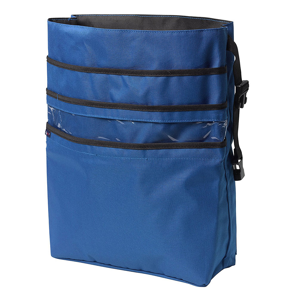 Drive Medical AgeWise Back of Wheelchair Organizer, Blue