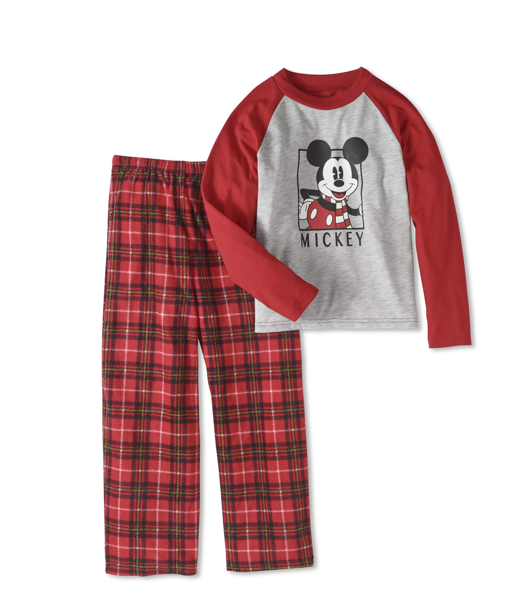 Mickey Mouse Boys' or Girls' Unisex Family Sleep 2pc Sleepwear Pajamas Set