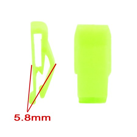 10pcs Green Car Console Plastic Retainer Dashboard Moulding Trim Clip Fastener - image 2 of 2