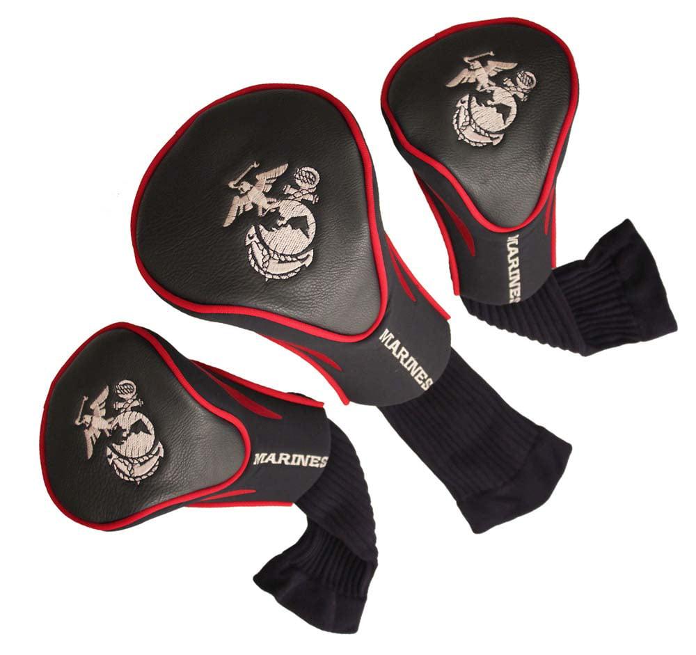 US Marines Set of Three Contour Headcovers