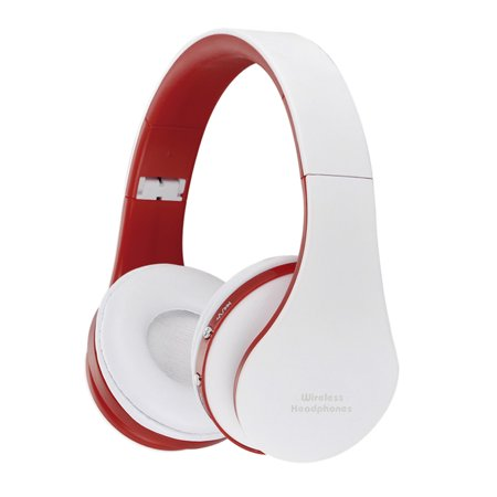 Foldable Wireless Bluetooth Stereo Headset Handsfree Headphones Mic  for iPhone iPad (Best Wireless Headphones For Ipad)