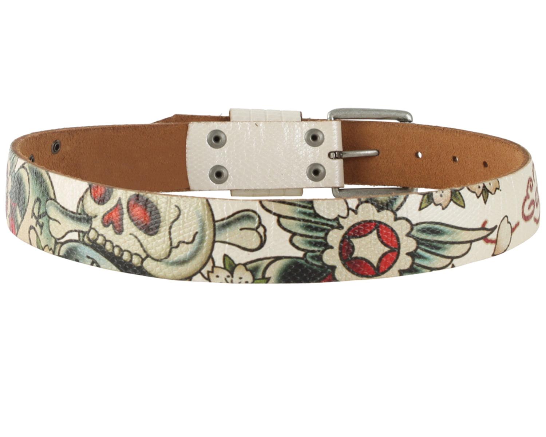 Ed Hardy EH3297 Prep School-Kids Girls-Leather Belt