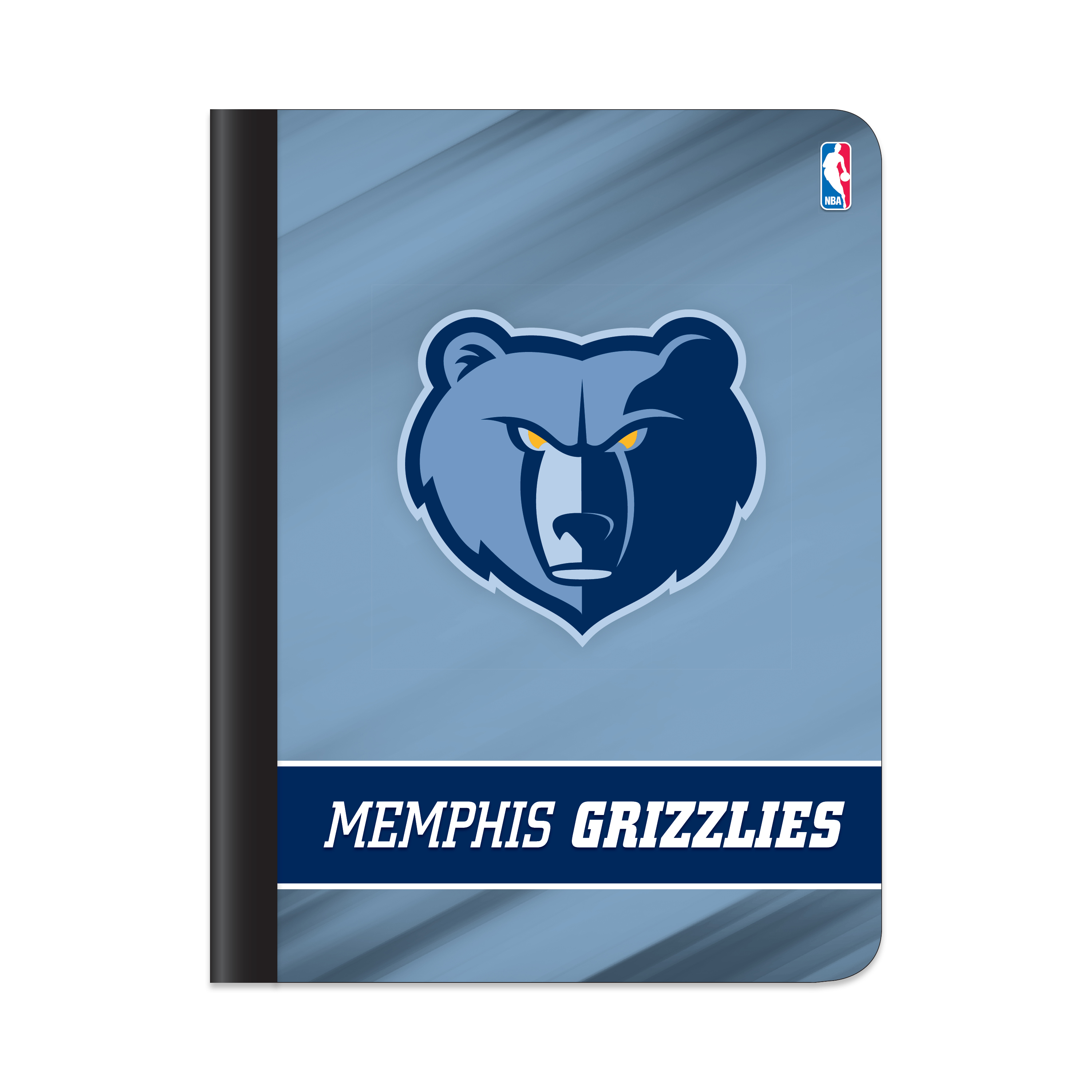 "NBA Memphis Grizzlies Composition Book, 7.5"" by 9.75"", 100 Sheets, College Rule"