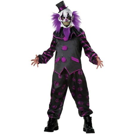 Bearded Clown Men's Adult Halloween Costume