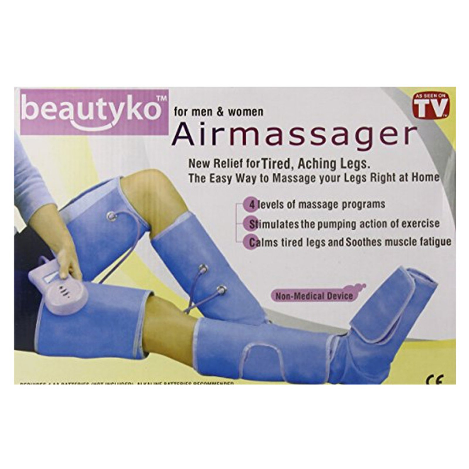 Z-Comfort 3 Piece Full Boot Leg Massager