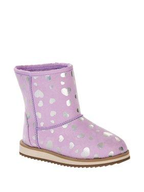 Wonder Nation Faux Shearling Boots (Little Girls & Big Girls)