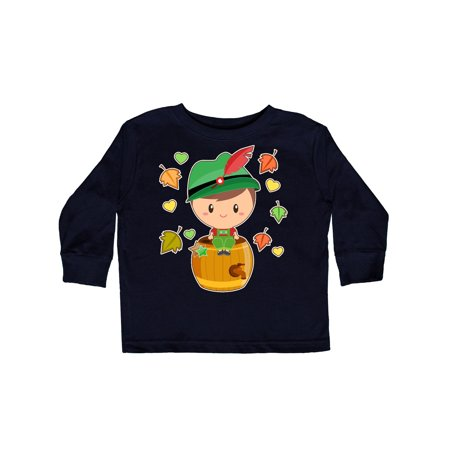 Autumn Boy in German Clothes Toddler Long Sleeve T-Shirt German Boy Clothes