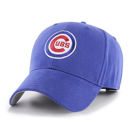 MLB Chicago Cubs Basic Adjustable Cap/Hat by Fan (Chicago Cubs Golf)