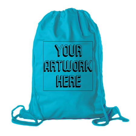 2ea30cd3421b Personalized Cotton Drawstring Backpacks, Your logo here Custom Cinch Sacks