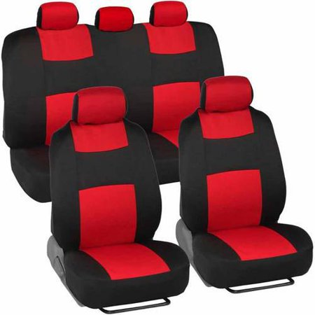 Bdk Universal Full Set Of Deluxe Low Back Car Seat Covers Universal
