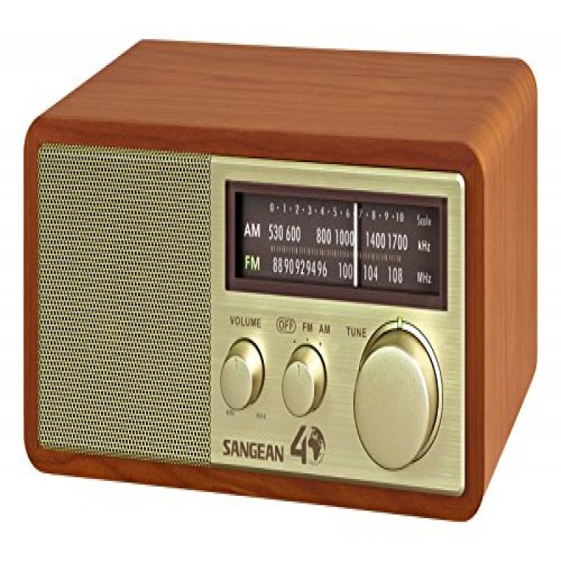 Sangean WR-11SE AM FM Table Top Radio 40th Anniversary Edition by Sangean