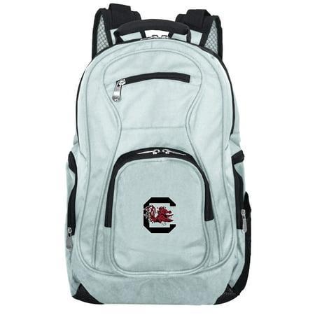 NCAA South Carolina Gamecocks Gray Premium Laptop Backpack