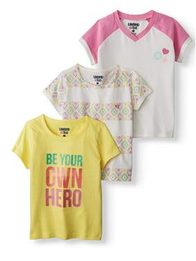 d68be78bc Toddler Girls Tops & T-Shirts - Walmart.com