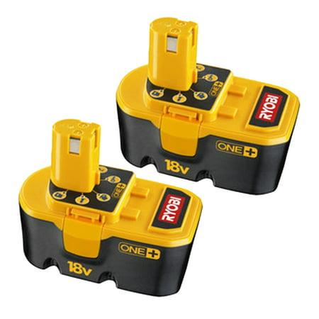 Ryobi P100 One 18 Volt 1 5ah Battery 130255004 2pk
