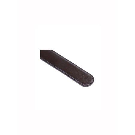 "Men Automatic Buckle Holeless Ratchet Belt 1 1/2"" Dark Brown 125CM - image 3 of 5"