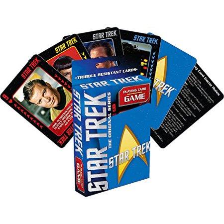Star Trek Playing Card Game, Cards measure 2.5 x 3.6 By Aquarius
