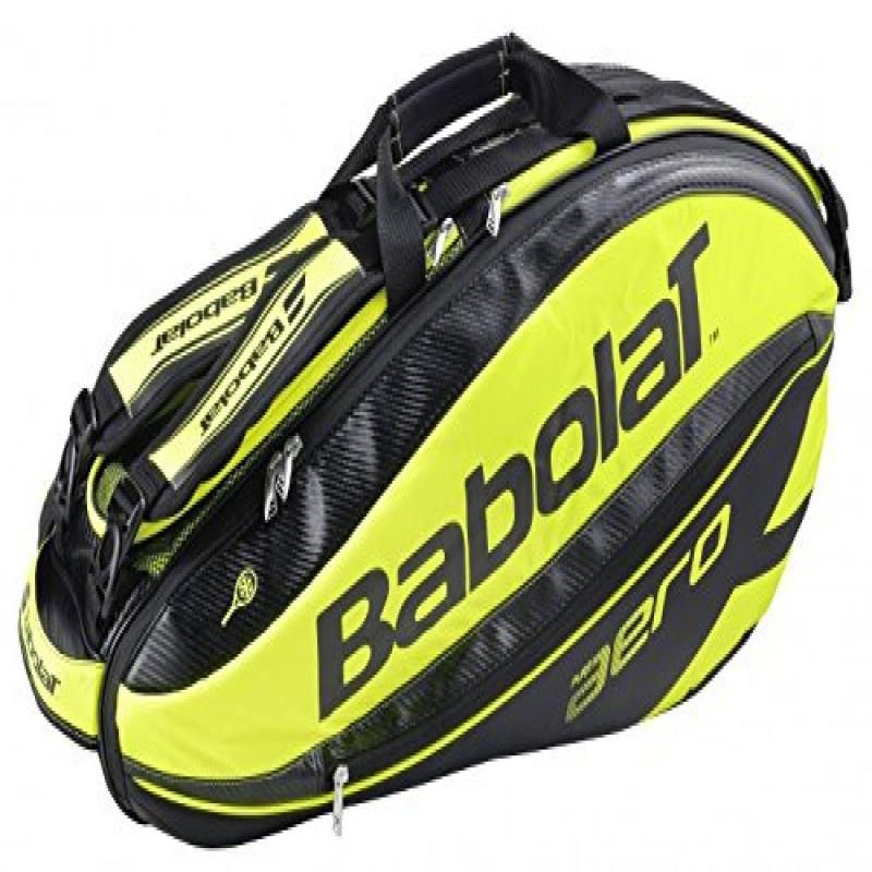 Babolat Pure Aero (6-Pack) Tennis Bag (Black/Yellow)
