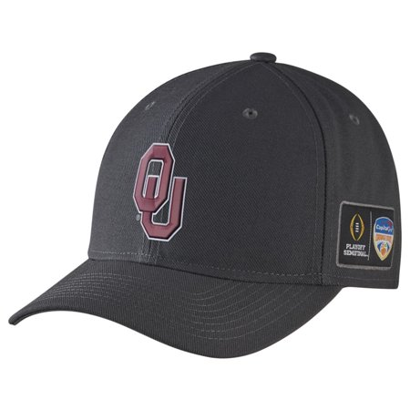 Football Coach Headsets Halloween (Oklahoma Sooners Nike College Football Playoff 2015 Orange Bowl Bound Coaches Adjustable Hat - Anthracite -)
