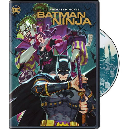 Batman Ninja (DVD) - Batman In Classic Movie Scenes Halloween