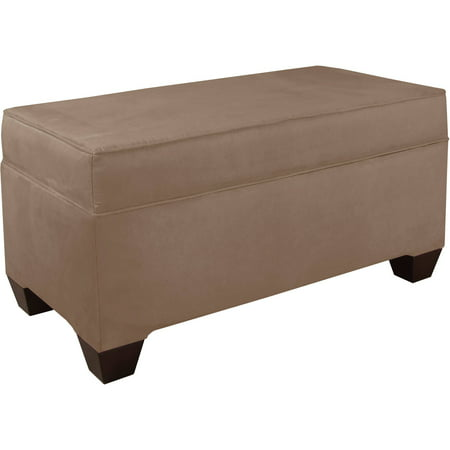 Velvet storage bench multiple colors Velvet storage bench
