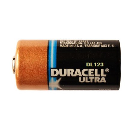duracell ultra dl123 3 0v photo lithium battery cr123 10. Black Bedroom Furniture Sets. Home Design Ideas