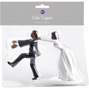 wilton wedding cake topper first kiss walmartcom