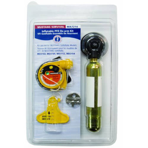 Mustang Survival Hydrostatic Inflator Technology, HIT Re-arm Kit