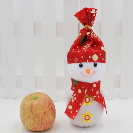 christmas snowman apple bag christmas eve lovely apple box xmas decorations