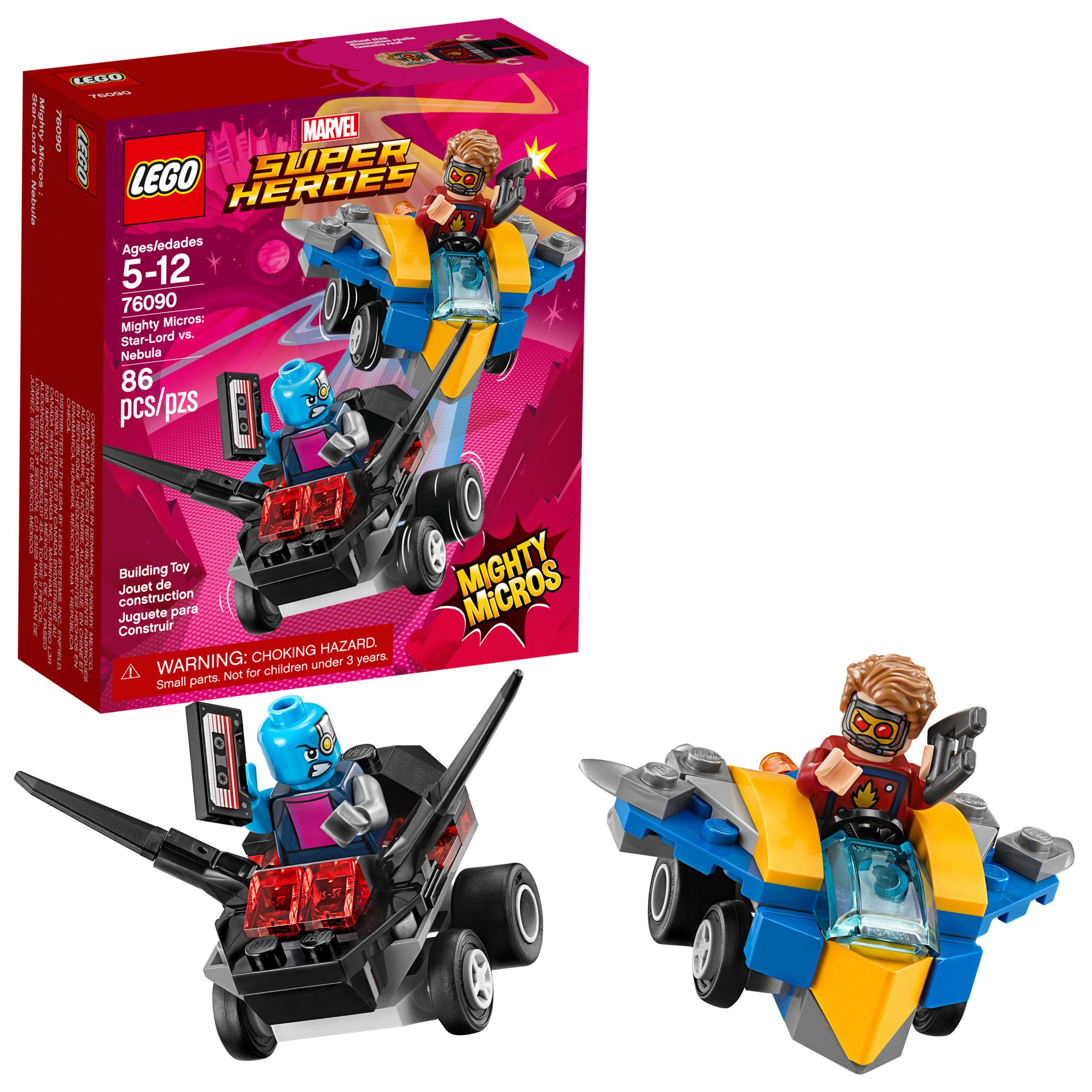 LEGO Super Heroes Mighty Micros: Star-Lord vs. Nebula 76090