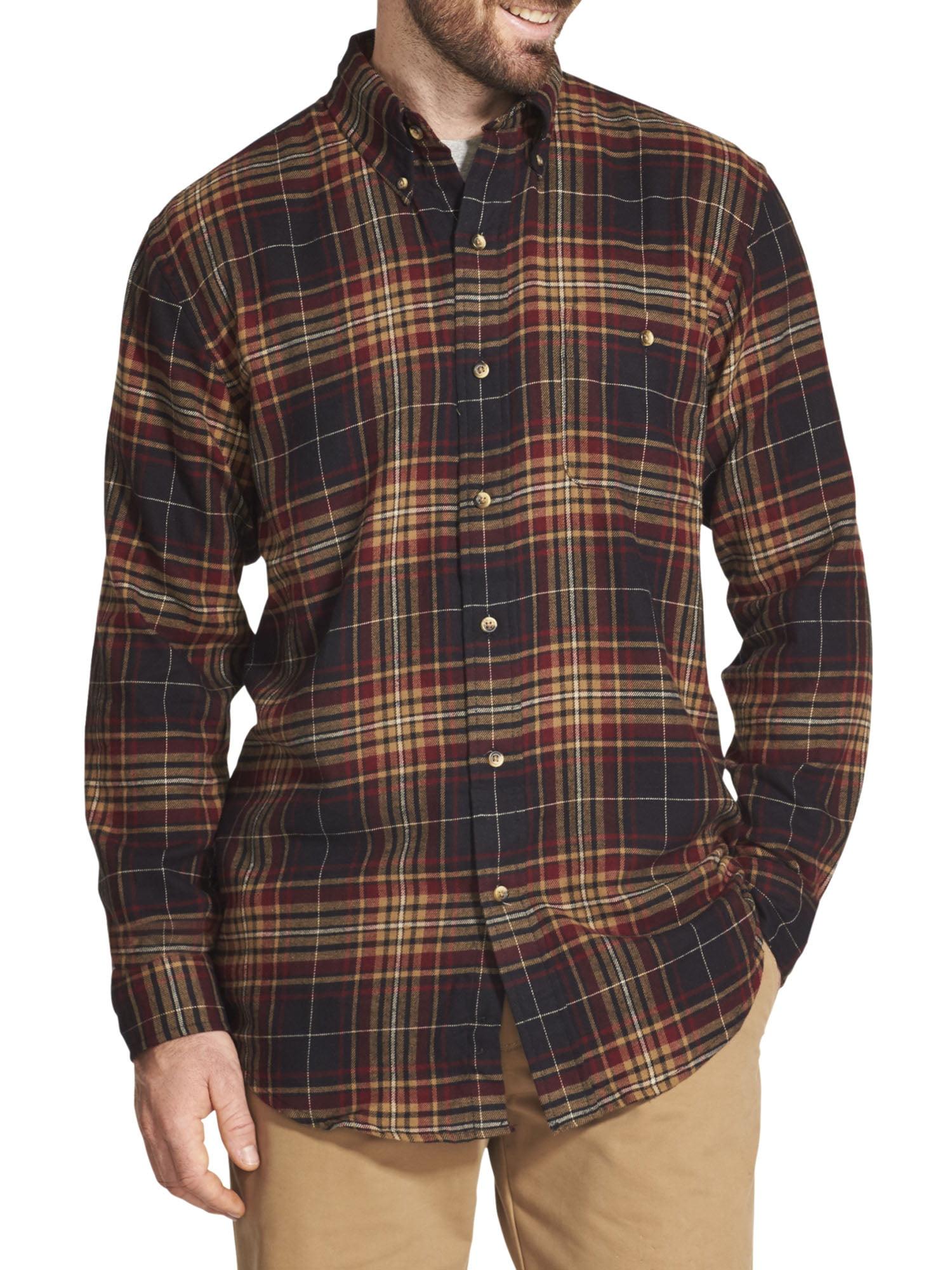 Large Brown L1 Hamilton Flannel 2019