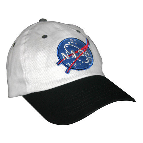 Aeromax Jr. Astronaut Cap in Black and White